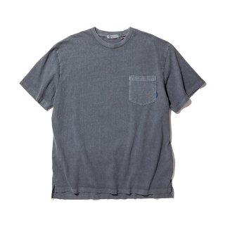 RADIALL/EL CAMINO-CREW NECK POCKET T-SHIRT S/S/インクブラック