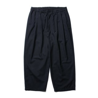COOTIE/T/W 2 TUCK EASY PANTS/ブラック