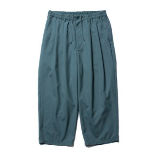 COOTIE/T/W 2 TUCK EASY PANTS/グリーン