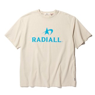 <img class='new_mark_img1' src='https://img.shop-pro.jp/img/new/icons8.gif' style='border:none;display:inline;margin:0px;padding:0px;width:auto;' />RADIALL/LOGOTYPE-CREW NECK T-SHIRT S/S/スノーホワイト