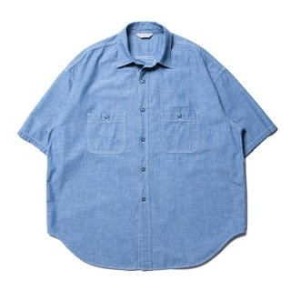 <img class='new_mark_img1' src='https://img.shop-pro.jp/img/new/icons8.gif' style='border:none;display:inline;margin:0px;padding:0px;width:auto;' />COOTIE/CHAMBRAY WORK S/S SHIRT