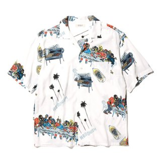 RADIALL/BIBLE-OPEN COLLARED SHIRT S/S/ホワイト【20%OFF】<img class='new_mark_img2' src='https://img.shop-pro.jp/img/new/icons20.gif' style='border:none;display:inline;margin:0px;padding:0px;width:auto;' />