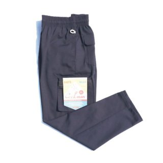 <img class='new_mark_img1' src='https://img.shop-pro.jp/img/new/icons8.gif' style='border:none;display:inline;margin:0px;padding:0px;width:auto;' />COOKMAN/CHEF CARGO PANTS/RIPSTOP/ネイビー/送料無料