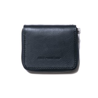 COOTIE/LEATHER ZIP-AROUND WALLET