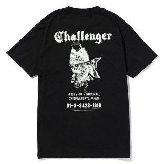 CHALLENGER/GOLD FISH TEE/ブラック