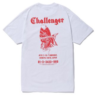 CHALLENGER/GOLD FISH TEE/ホワイト