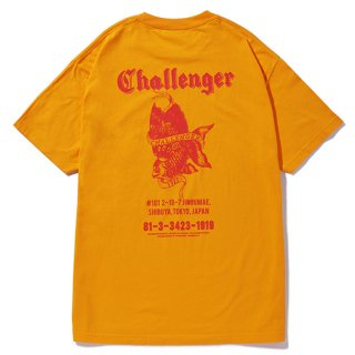 CHALLENGER/GOLD FISH TEE/ゴールド