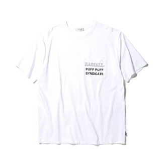 <img class='new_mark_img1' src='https://img.shop-pro.jp/img/new/icons8.gif' style='border:none;display:inline;margin:0px;padding:0px;width:auto;' />RADIALL/SYNDICATE-CREW NECK POCKET T-SHIRT S/S/ホワイト