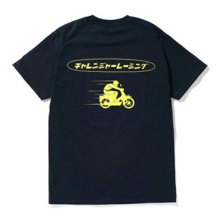 <img class='new_mark_img1' src='https://img.shop-pro.jp/img/new/icons8.gif' style='border:none;display:inline;margin:0px;padding:0px;width:auto;' />CHALLENGER/CLGR RACING TEE/ネイビー