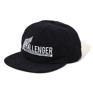 CHALLENGER/WHEEL LOGO CORDUROY CAP
