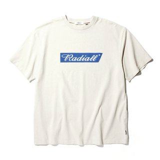 RADIALL/FLAGS-CREW NECK T-SHIRT S/S/スノーホワイト