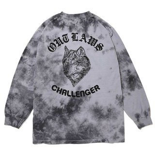 <img class='new_mark_img1' src='https://img.shop-pro.jp/img/new/icons8.gif' style='border:none;display:inline;margin:0px;padding:0px;width:auto;' />CHALLENGER/TIE DYE WOLF L/S TEE
