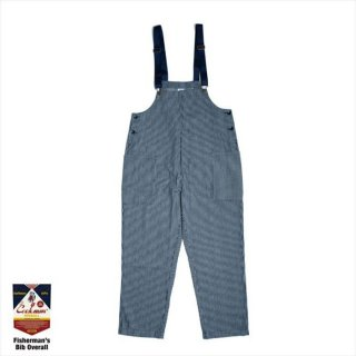 COOKMAN/FISHERMAN'S BIB OVERALL/ヒッコリー