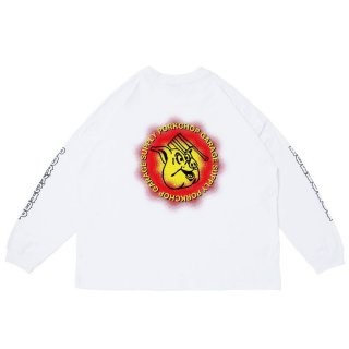 PORKCHOP/OLD PORK L/S TEE/ホワイト