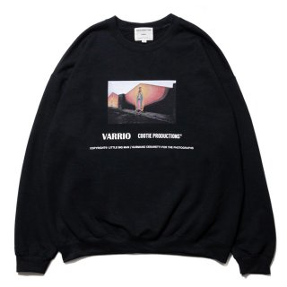 <img class='new_mark_img1' src='https://img.shop-pro.jp/img/new/icons8.gif' style='border:none;display:inline;margin:0px;padding:0px;width:auto;' />COOTIE/PRINT CREWNECK SWEATSHIRT (MARY)/ブラック