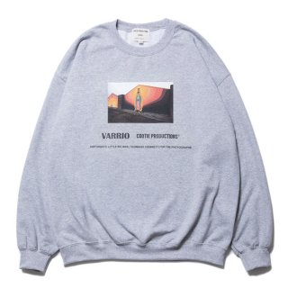 <img class='new_mark_img1' src='https://img.shop-pro.jp/img/new/icons8.gif' style='border:none;display:inline;margin:0px;padding:0px;width:auto;' />COOTIE/PRINT CREWNECK SWEATSHIRT (MARY)/グレー