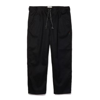 RADIALL/CONQUISTA-WIDE FIT EASY PANTS/ブラック