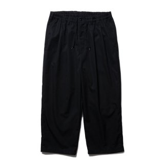 <img class='new_mark_img1' src='https://img.shop-pro.jp/img/new/icons8.gif' style='border:none;display:inline;margin:0px;padding:0px;width:auto;' />COOTIE/VENTILE 2 TUCK EASY PANTS/ブラック