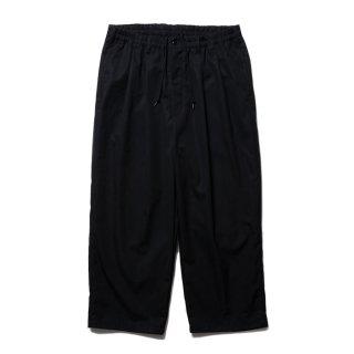 COOTIE/VENTILE 2 TUCK EASY PANTS/ブラック