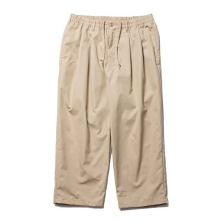 <img class='new_mark_img1' src='https://img.shop-pro.jp/img/new/icons8.gif' style='border:none;display:inline;margin:0px;padding:0px;width:auto;' />COOTIE/VENTILE 2 TUCK EASY PANTS/ベージュ