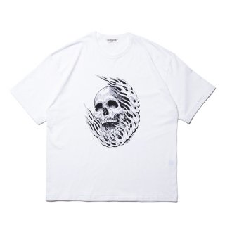 COOTIE/PRINT S/S TEE (MAGICAL DESIGN)/ホワイト
