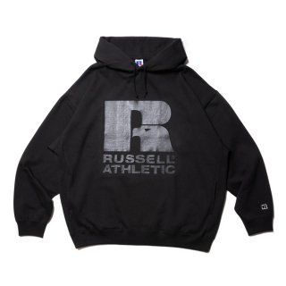 COOTIE/T/C PULLOVER PARKA/ブラック×クリアー