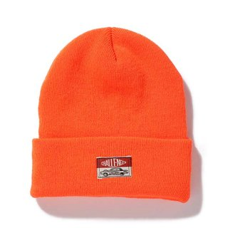 <img class='new_mark_img1' src='https://img.shop-pro.jp/img/new/icons8.gif' style='border:none;display:inline;margin:0px;padding:0px;width:auto;' />CHALLENGER/MILITARY KNIT CAP/F.オレンジ