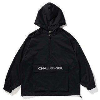 CHALLENGER/NYLON ANORAK JACKET/ブラック