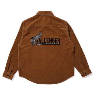 <img class='new_mark_img1' src='https://img.shop-pro.jp/img/new/icons8.gif' style='border:none;display:inline;margin:0px;padding:0px;width:auto;' />CHALLENGER/L/S CORDUROY WORK SHIRT/ベージュ