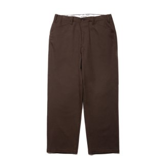 COOTIE/COTTON  KERSEY WORK TROUSERS/ブラウン