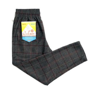 <img class='new_mark_img1' src='https://img.shop-pro.jp/img/new/icons8.gif' style='border:none;display:inline;margin:0px;padding:0px;width:auto;' />COOKMAN/CHEF PANTS/WOOL MIX CHECK/グレー