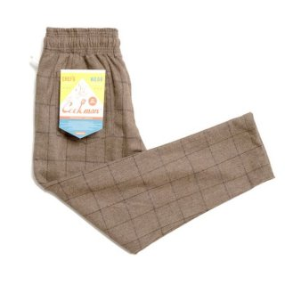 <img class='new_mark_img1' src='https://img.shop-pro.jp/img/new/icons8.gif' style='border:none;display:inline;margin:0px;padding:0px;width:auto;' />COOKMAN/CHEF PANTS/WOOL MIX CHECK/ブラウン
