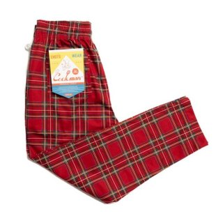 <img class='new_mark_img1' src='https://img.shop-pro.jp/img/new/icons8.gif' style='border:none;display:inline;margin:0px;padding:0px;width:auto;' />COOKMAN/CHEF PANTS/TARTAN RED