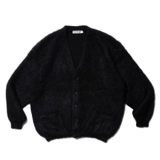 <img class='new_mark_img1' src='https://img.shop-pro.jp/img/new/icons8.gif' style='border:none;display:inline;margin:0px;padding:0px;width:auto;' />COOTIE/MOHAIR CARDIGAN/ブラック