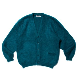 <img class='new_mark_img1' src='https://img.shop-pro.jp/img/new/icons8.gif' style='border:none;display:inline;margin:0px;padding:0px;width:auto;' />COOTIE/MOHAIR CARDIGAN/ターコイズ