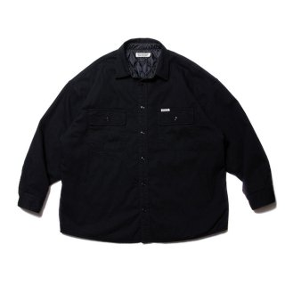 <img class='new_mark_img1' src='https://img.shop-pro.jp/img/new/icons8.gif' style='border:none;display:inline;margin:0px;padding:0px;width:auto;' />COOTIE/DENIM QUILTING SHIRT JACKET/ブラック