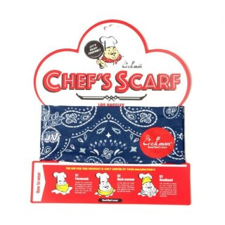 <img class='new_mark_img1' src='https://img.shop-pro.jp/img/new/icons8.gif' style='border:none;display:inline;margin:0px;padding:0px;width:auto;' />COOKMAN/CHEF'S SCARF/PAISLEY/ネイビー