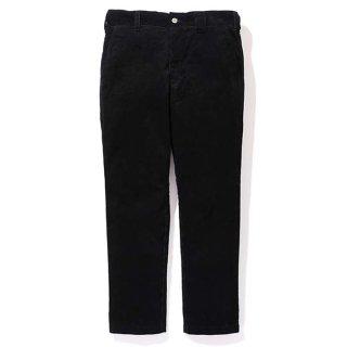 CHALLENGER/CORDUROY WORK PANTS/ブラック