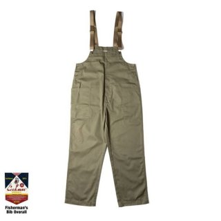 <img class='new_mark_img1' src='https://img.shop-pro.jp/img/new/icons8.gif' style='border:none;display:inline;margin:0px;padding:0px;width:auto;' />COOKMAN/FISHERMAN'S BIB OVERALL/カーキ