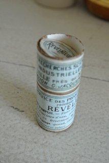 フランス アンティークボックス 写真用現像薬 薬品箱