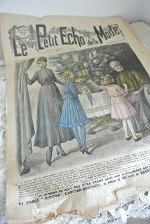 フランスアンティーク ファッション誌「ル・プティ・エコー・ド・ラ・モード」1915年12月  【普通郵便送料無料】