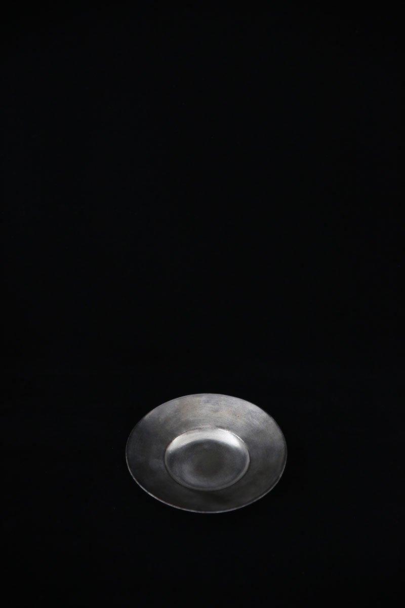 銀彩ピューターオランダ皿 S