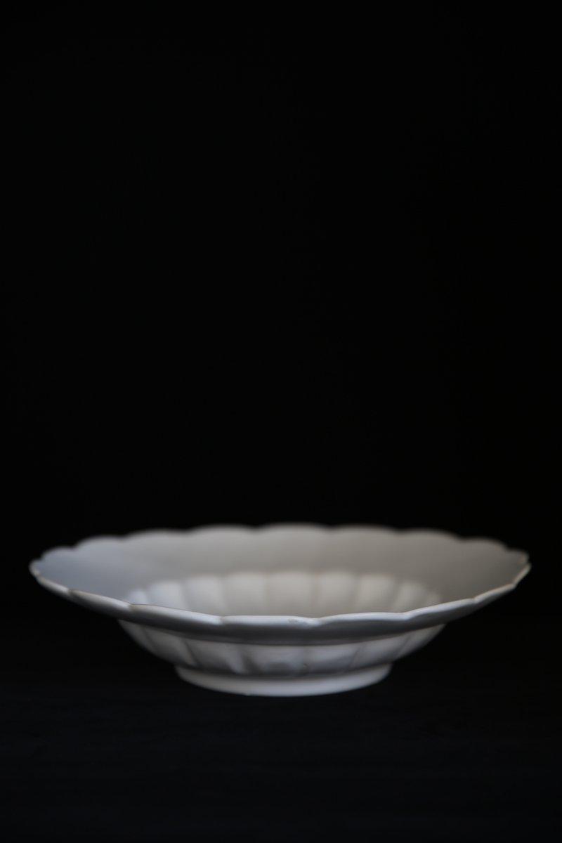 イタリア輪花スープ皿 M マット