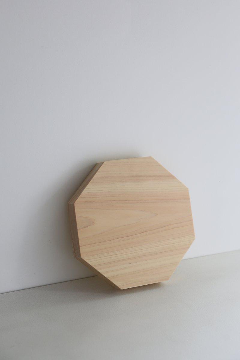 八角まな板|檜