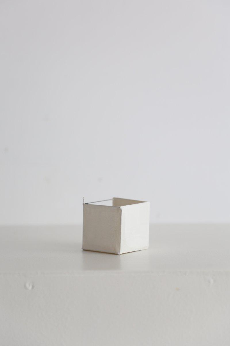 紙飾り|立方体