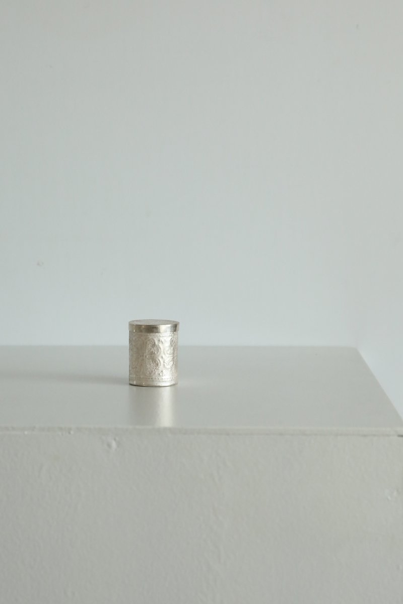 彫小箱|pure silver