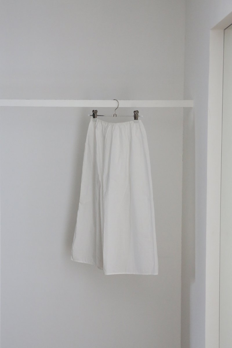 ペチスカート|オフ白
