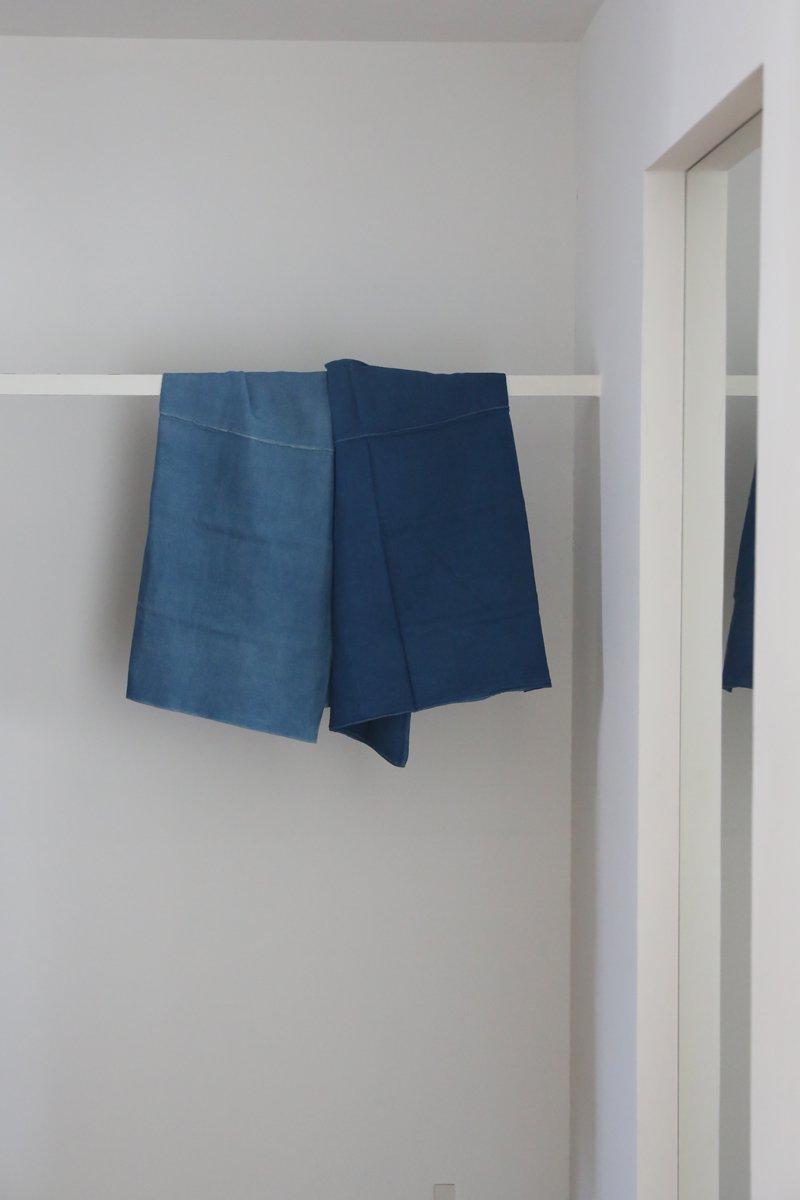重ねサロン|藍染 2段