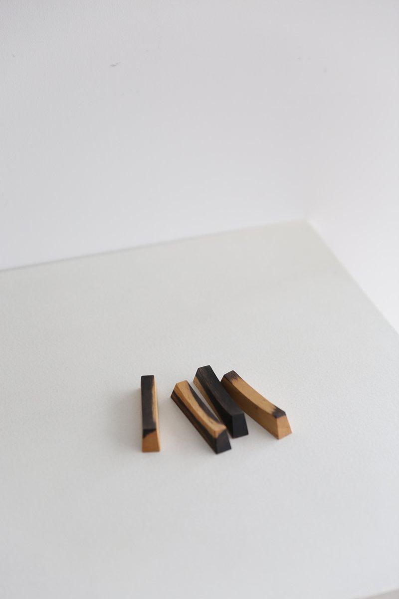 黒柿箸置き|4点set