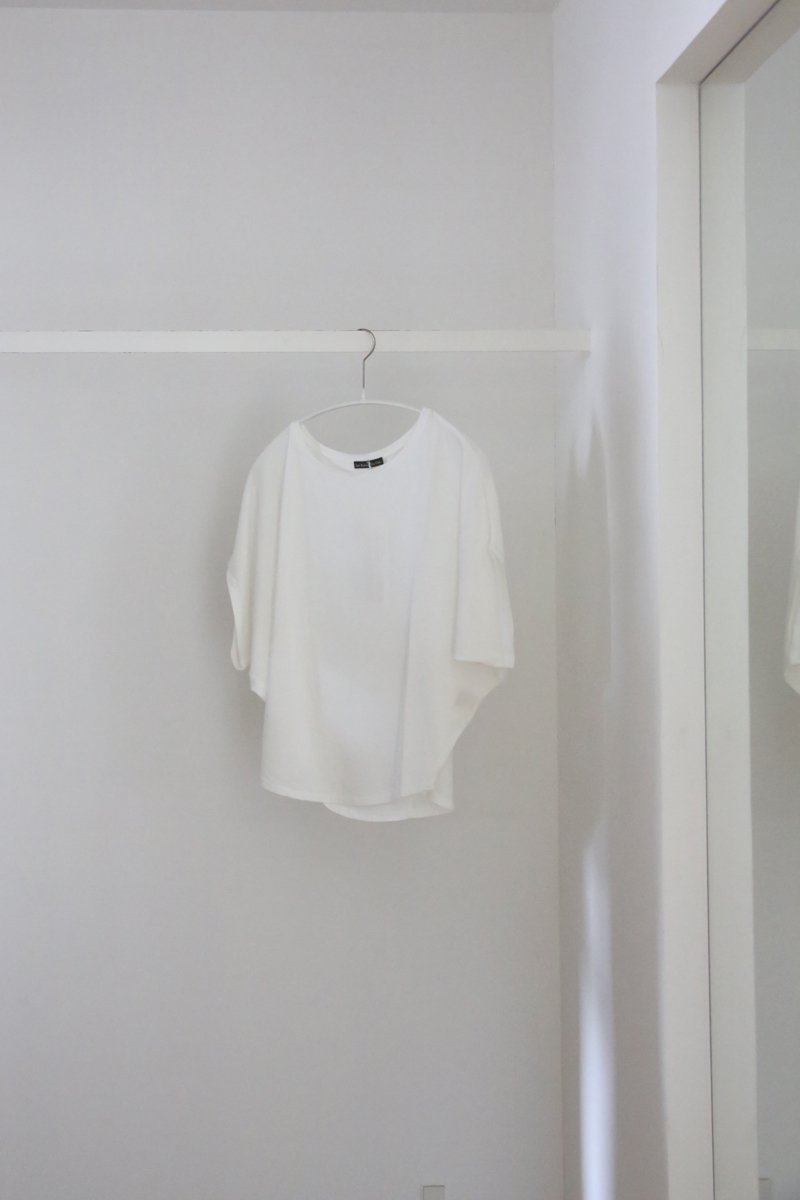 Loose T-shirt|off white